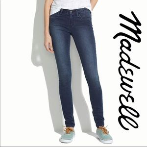 Madewell Dark Wash Legging Skinny Jeans Size 28